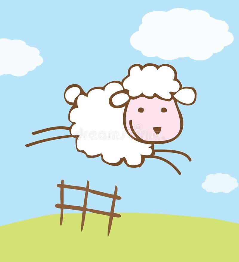 πρόβατα απεικόνισης απεικόνιση αποθεμάτων