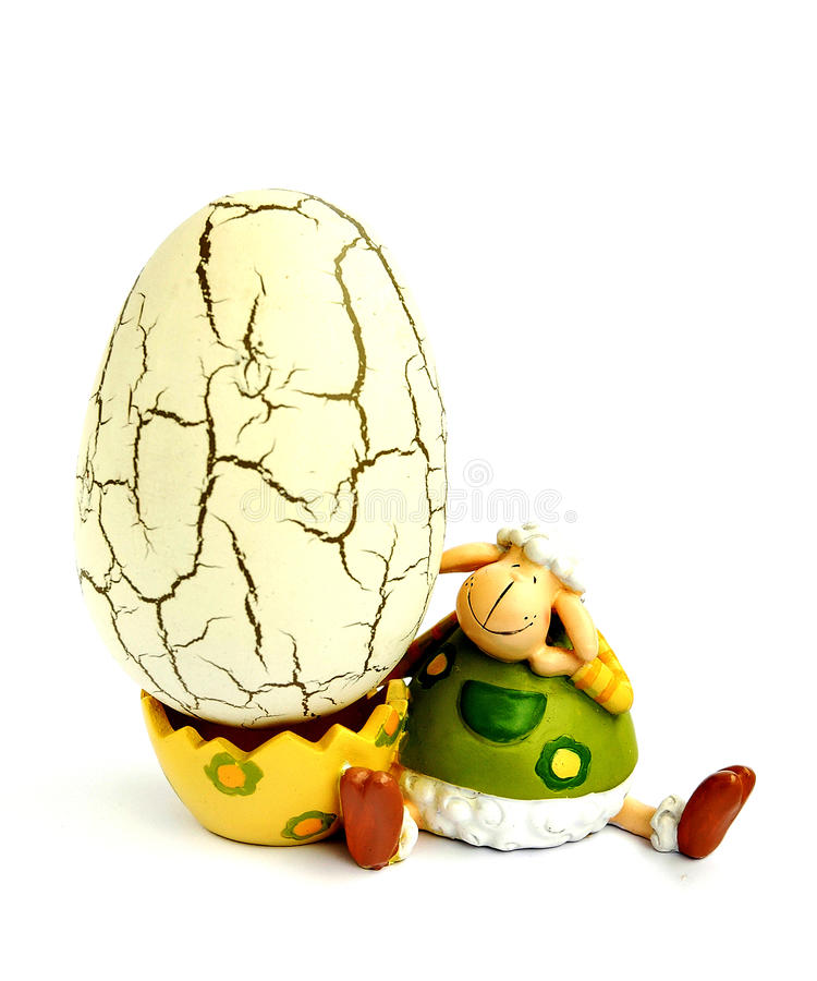πρόβατα αυγών στοκ φωτογραφίες