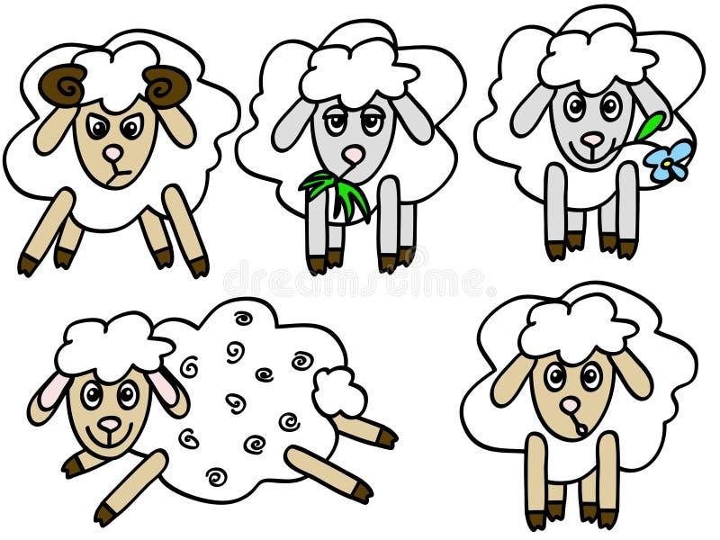 πρόβατα ελεύθερη απεικόνιση δικαιώματος