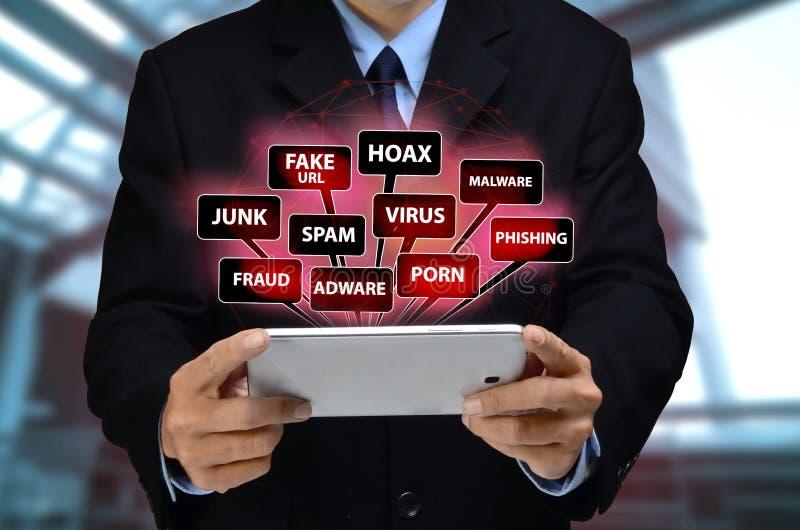 Πρόβλημα ασφαλείας Διαδικτύου στοκ φωτογραφία με δικαίωμα ελεύθερης χρήσης