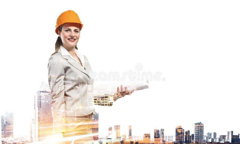 Πρόγραμμα βιομηχανικής ανάπτυξης Μικτά μέσα στοκ φωτογραφία