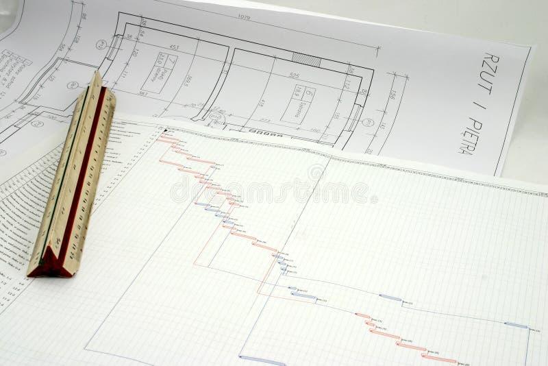 πρόγραμμα σχεδίων σχεδίο&upsil Στοκ Εικόνες