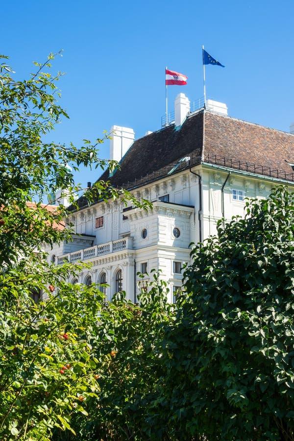Πρόεδροι Office Austria στοκ εικόνες