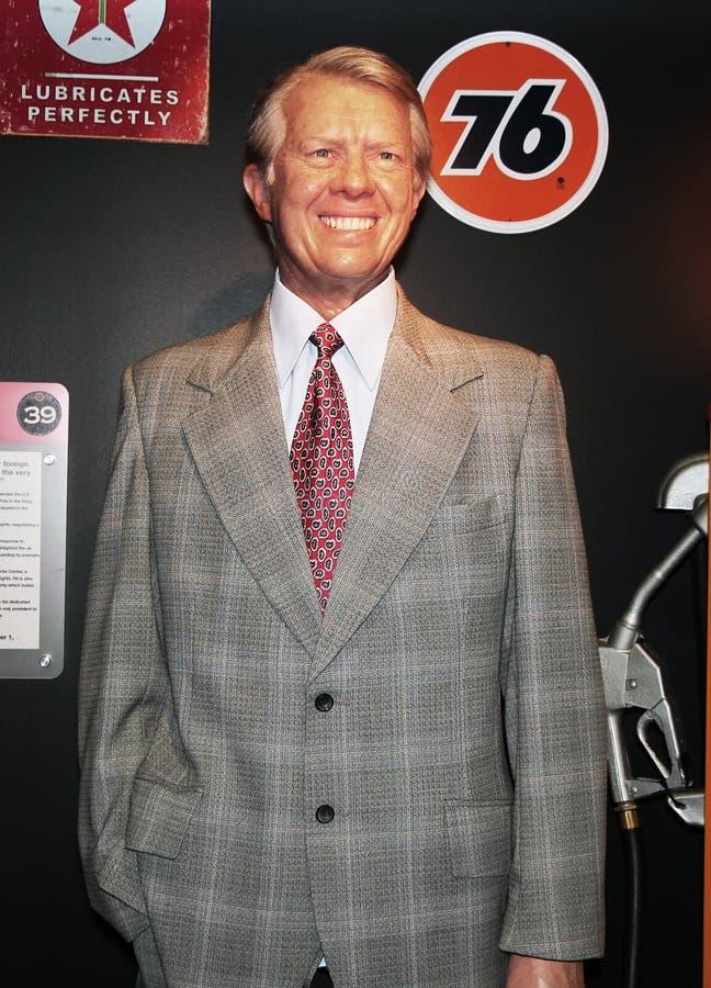 Πρόεδρος παλανquέτων Carter στοκ εικόνες με δικαίωμα ελεύθερης χρήσης