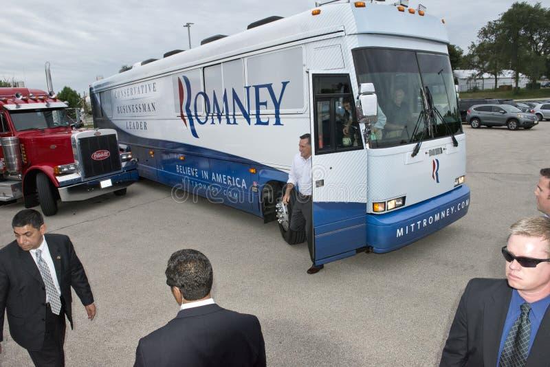 Πρόεδρος Candidate Mitt Romney Campaign διάδρομος στοκ φωτογραφία με δικαίωμα ελεύθερης χρήσης