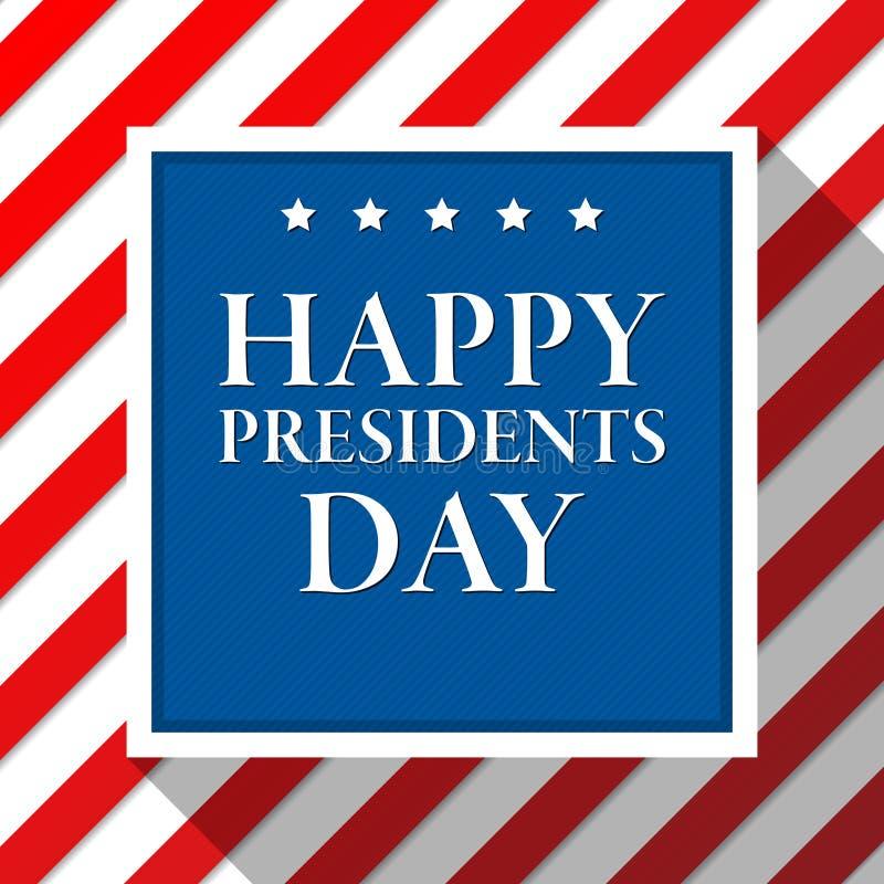 Πρόεδροι Day Vector Background αμερικανική σημαία χρωμάτω ΑΜΕΡΙΚΑΝΙΚΟ πατριωτικό πρότυπο Απεικόνιση με τα λωρίδες και τα αστέρια απεικόνιση αποθεμάτων