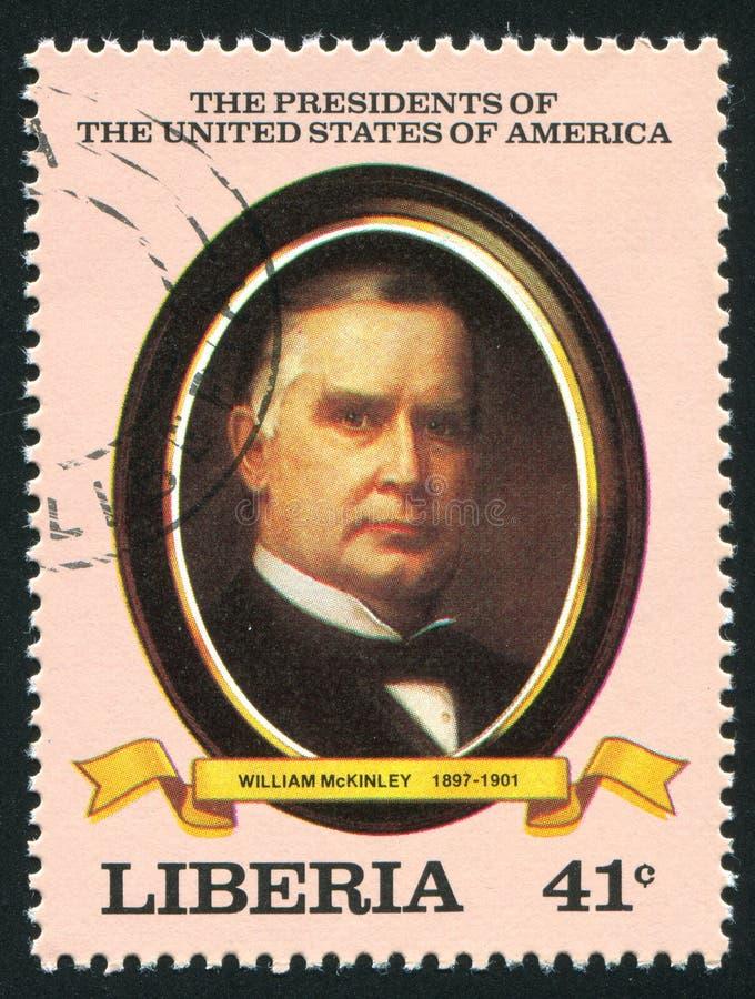 Πρόεδρος των Η. Π. Α. William McKinley στοκ φωτογραφία
