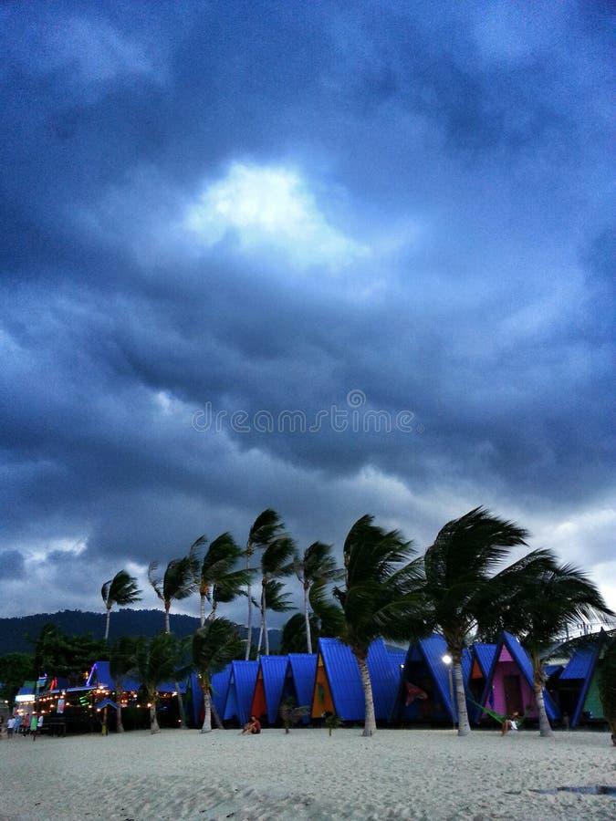 πρόκειται να είναι βροχή στοκ εικόνες με δικαίωμα ελεύθερης χρήσης