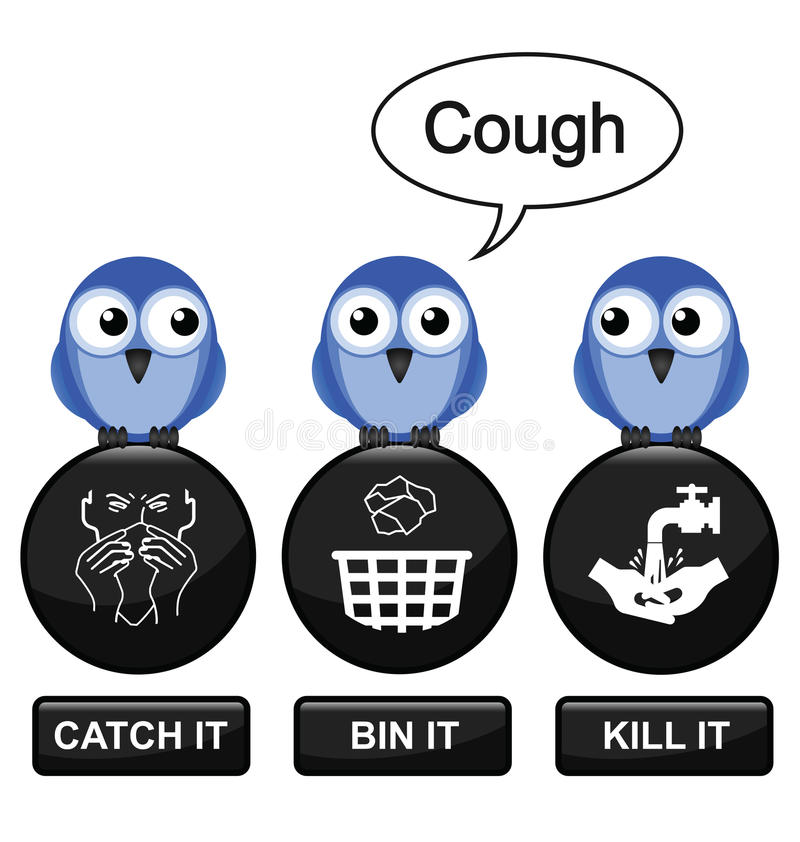 πρόληψη γρίπης ελεύθερη απεικόνιση δικαιώματος