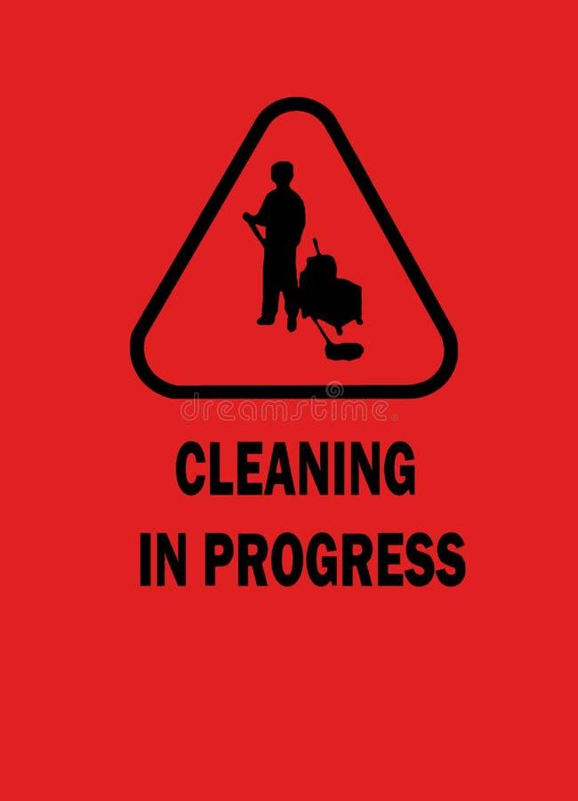 πρόοδος καθαρισμού στοκ εικόνες