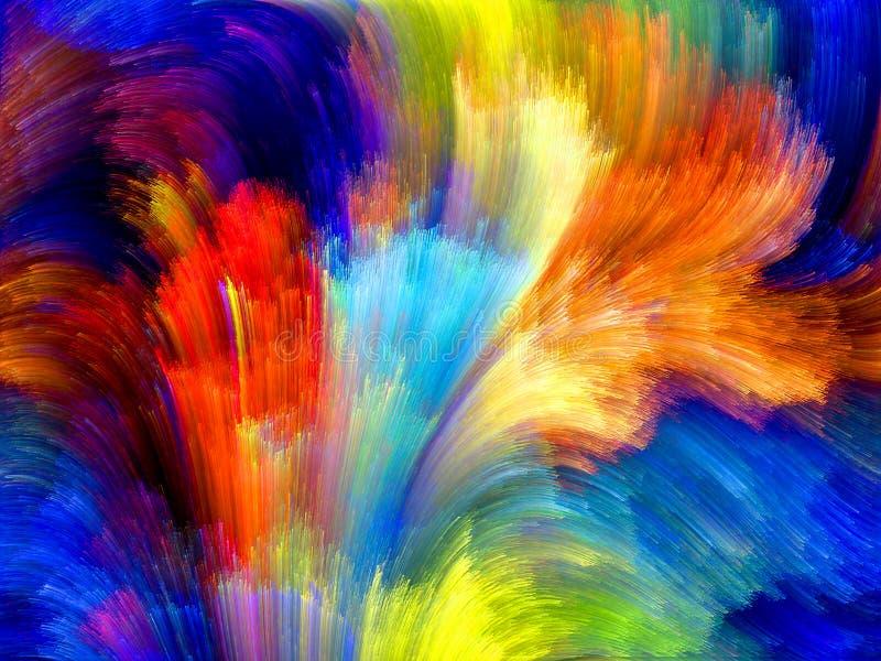 Πρόοδος του χρώματος στοκ εικόνα