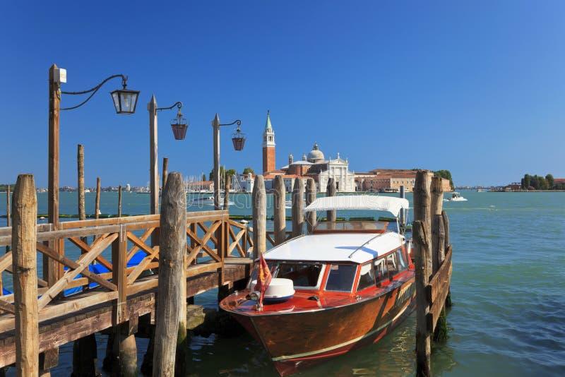 πρόσδεση Βενετία της Ιτα&lamb στοκ φωτογραφία