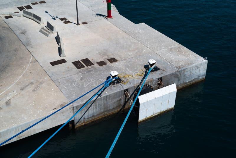 Πρόσδεση σκαφών στοκ εικόνες με δικαίωμα ελεύθερης χρήσης