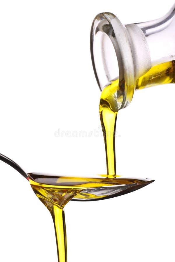 πρόσθετη ελιά Virgin πετρελαίου στοκ φωτογραφία