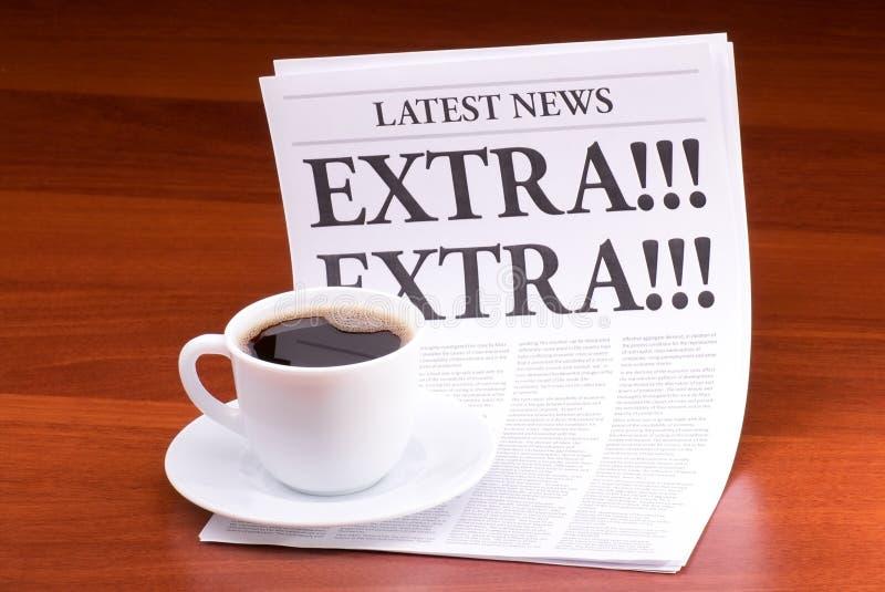 πρόσθετη εφημερίδα στοκ φωτογραφία