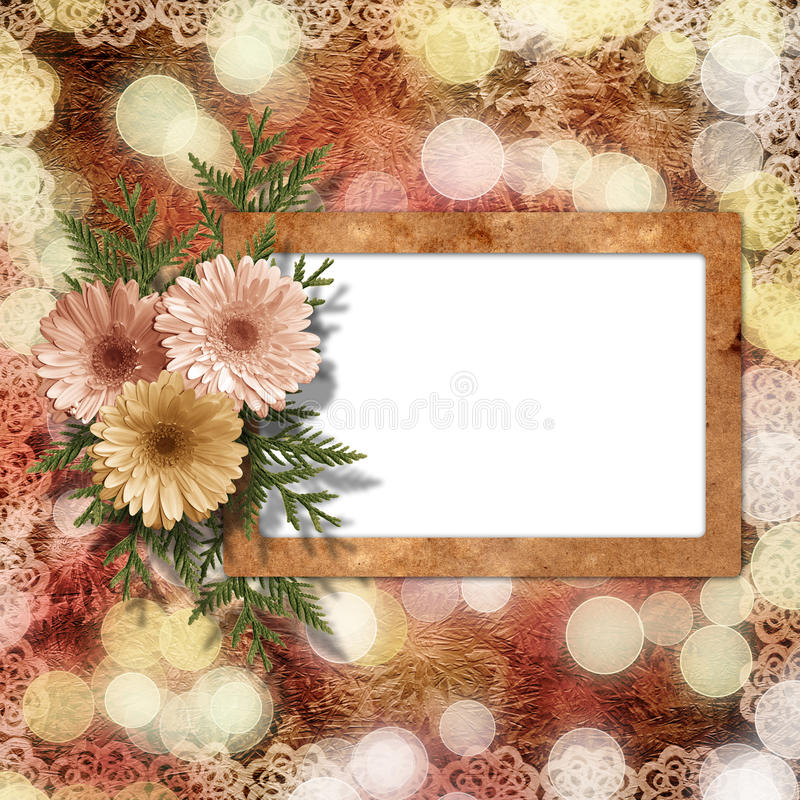 πρόσκληση συγχαρητηρίων καρτών ελεύθερη απεικόνιση δικαιώματος