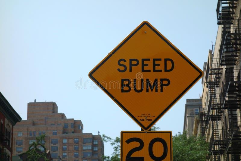 Πρόσκρουση ταχύτητας στοκ φωτογραφία με δικαίωμα ελεύθερης χρήσης