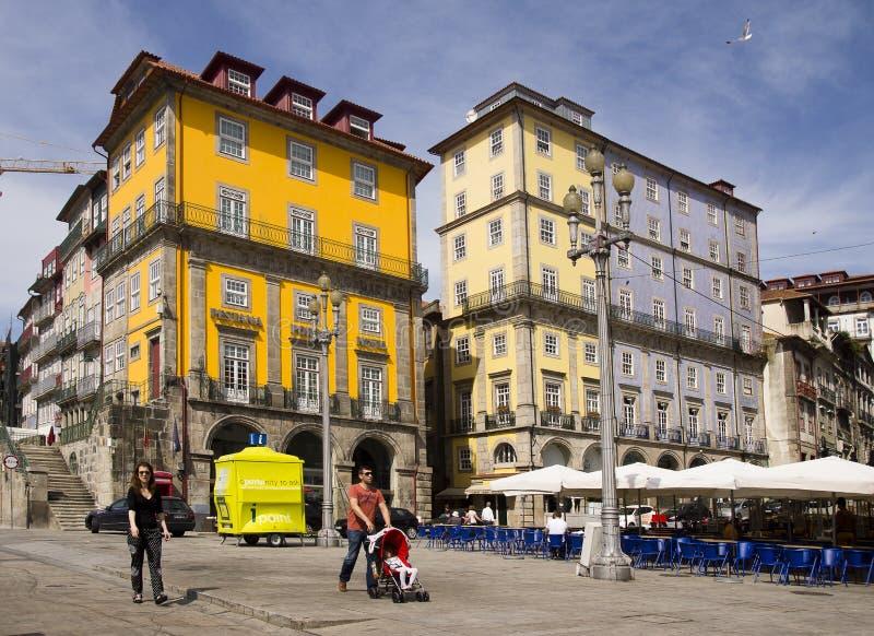 Πρόσοψη Πόρτο Πορτογαλία στοκ φωτογραφία