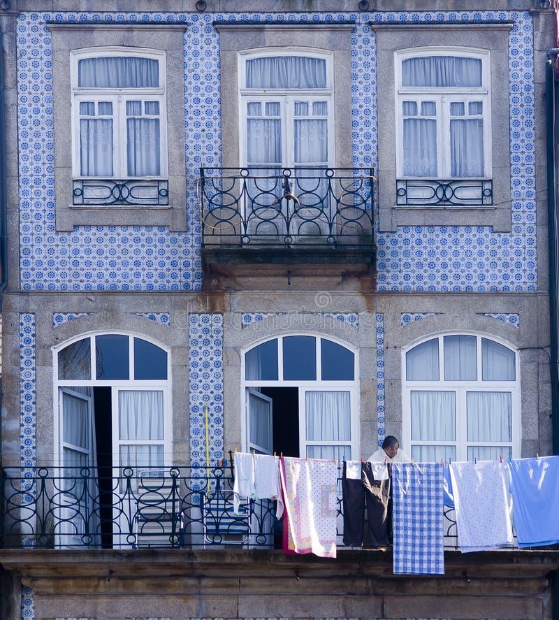 Πρόσοψη Πόρτο Πορτογαλία στοκ εικόνα