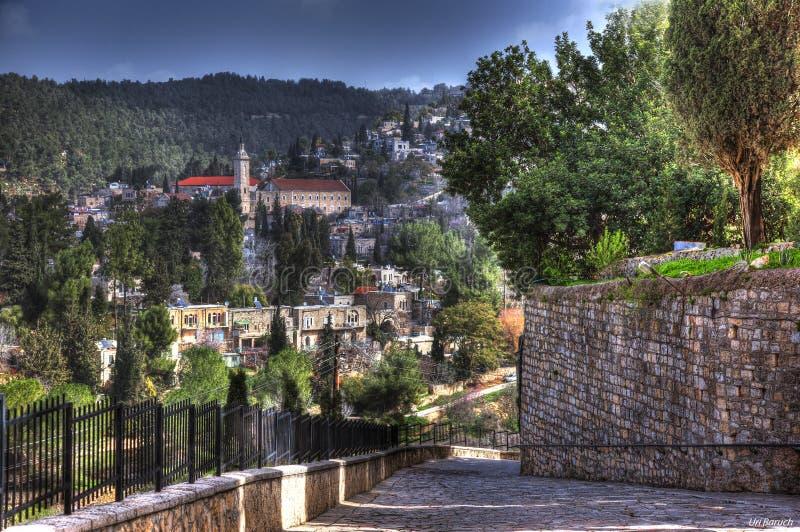 Πρόσοψη της Ιερουσαλήμ στοκ εικόνα με δικαίωμα ελεύθερης χρήσης