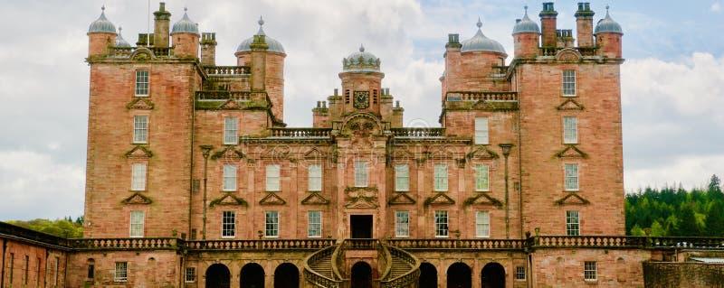 Πρόσοψη του κάστρου στοκ φωτογραφίες με δικαίωμα ελεύθερης χρήσης