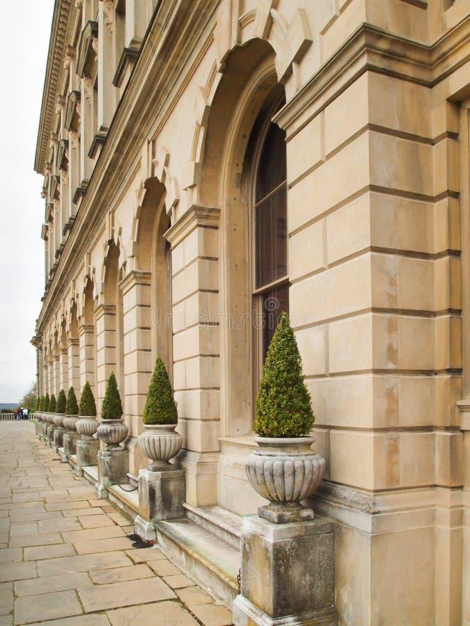 Πρόσοψη του σπιτιού UK Cliveden στοκ φωτογραφία με δικαίωμα ελεύθερης χρήσης