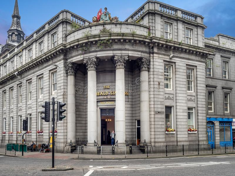 Πρόσοψη των παλαιών κτηρίων στοκ φωτογραφία με δικαίωμα ελεύθερης χρήσης