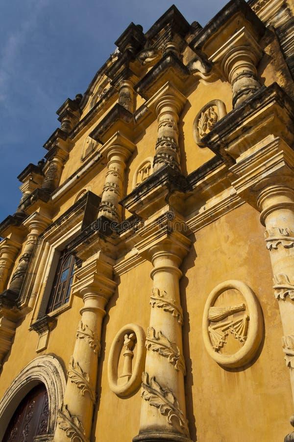 Πρόσοψη Recoleccion Iglesia στοκ φωτογραφίες με δικαίωμα ελεύθερης χρήσης