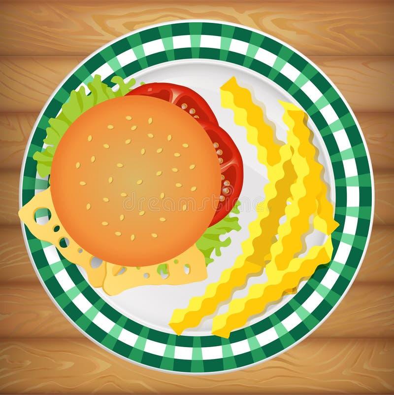 Πρόσφατα μαγειρευμένος απεικόνιση αποθεμάτων