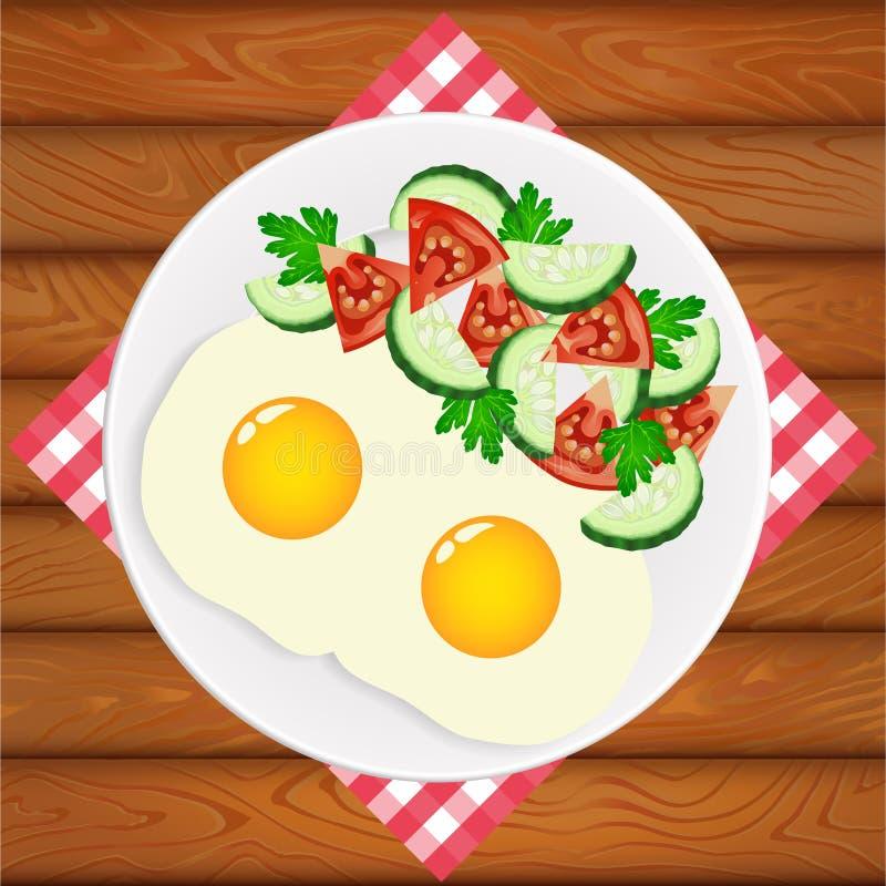 Πρόσφατα μαγειρευμένος διανυσματική απεικόνιση