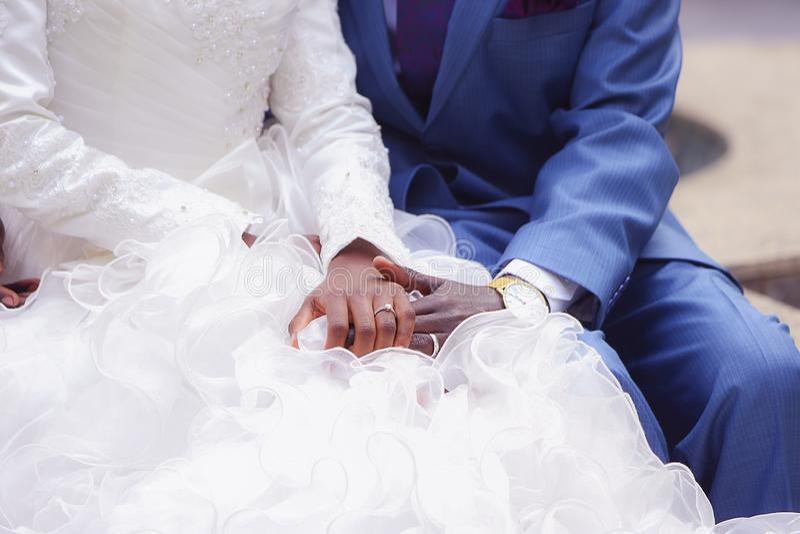 πρόσφατα weds στοκ εικόνες