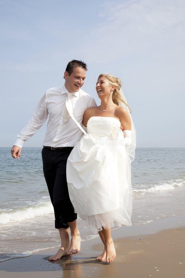 πρόσφατα weds στοκ φωτογραφία με δικαίωμα ελεύθερης χρήσης