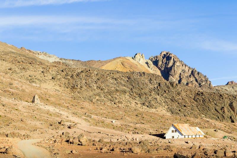 Πρόσφυγας ηφαιστείων Chimborazo στοκ εικόνες με δικαίωμα ελεύθερης χρήσης