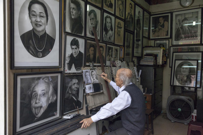 Πρόσωπα του Ανόι στοκ φωτογραφία