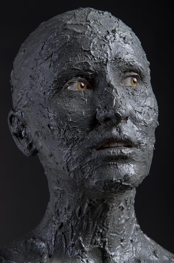 Πρόσωπο λάσπης στοκ φωτογραφία με δικαίωμα ελεύθερης χρήσης
