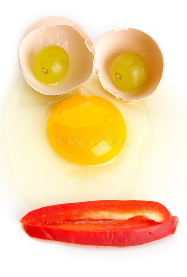 πρόσωπο αυγών στοκ φωτογραφίες