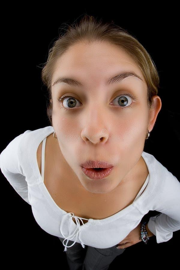 πρόσωπο ευρέως στοκ φωτογραφία με δικαίωμα ελεύθερης χρήσης