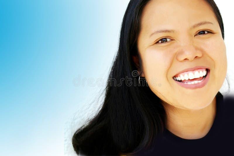 πρόσωπο ευτυχές στοκ φωτογραφία