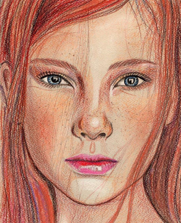 Πρόσωπο κοριτσιών στοκ εικόνες