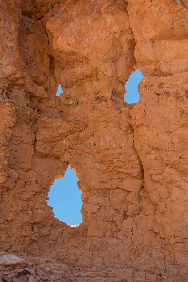 Πρόσωπο κραυγής στο Stone στοκ εικόνες