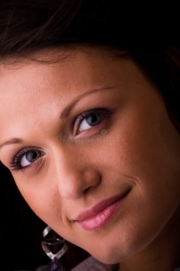 πρόσωπο ματιών στοκ εικόνα