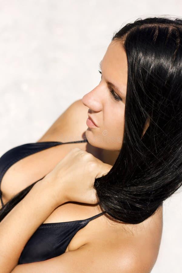 Download Πρόσωπο μαυρίσματος στοκ εικόνα. εικόνα από δέρμα, κορίτσι - 13184905