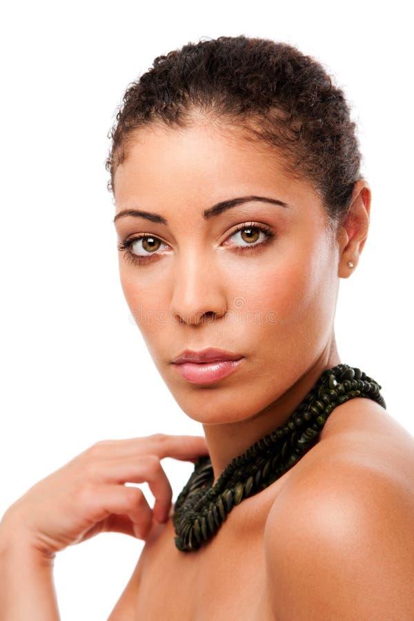 πρόσωπο ομορφιάς skincare στοκ εικόνα