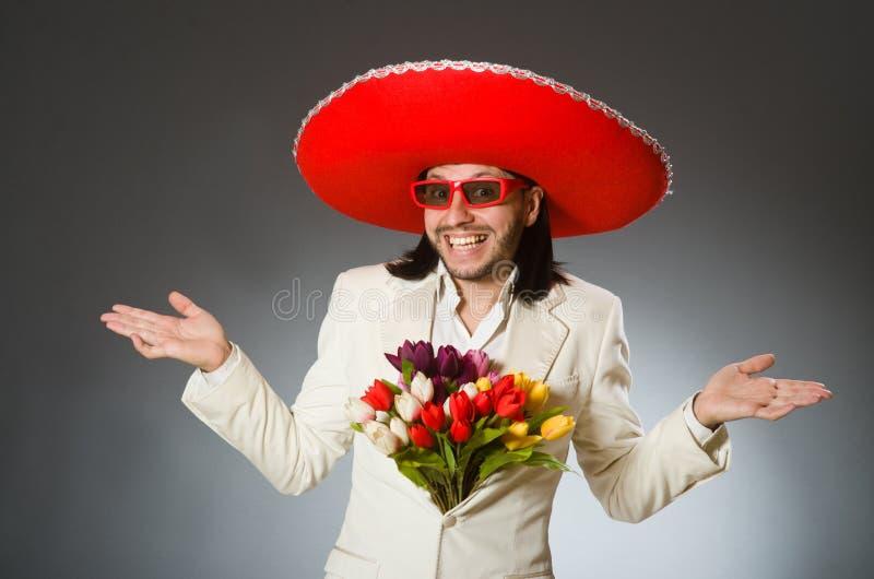 Download Πρόσωπο που φορά το καπέλο σομπρέρο στην αστεία έννοια Στοκ Εικόνες - εικόνα από λατίνος, φαλλοκράτης: 62709788