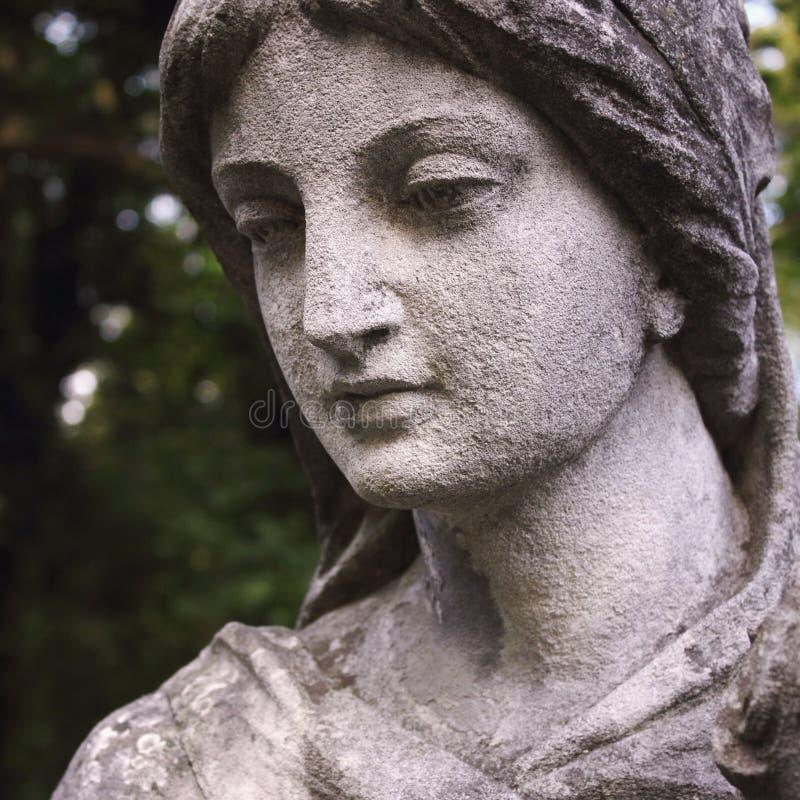 Πρόσωπο της θεάς της αγάπης Aphrodite (Αφροδίτη) στοκ φωτογραφία με δικαίωμα ελεύθερης χρήσης