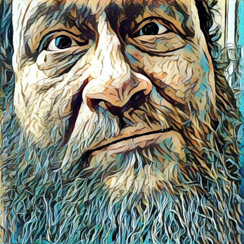 Πρόσωπο της φρόνησης ελεύθερη απεικόνιση δικαιώματος