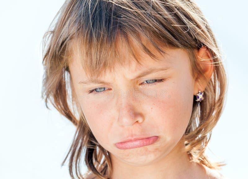 Πρόσωπο του νέου κοριτσιού στοκ εικόνα με δικαίωμα ελεύθερης χρήσης
