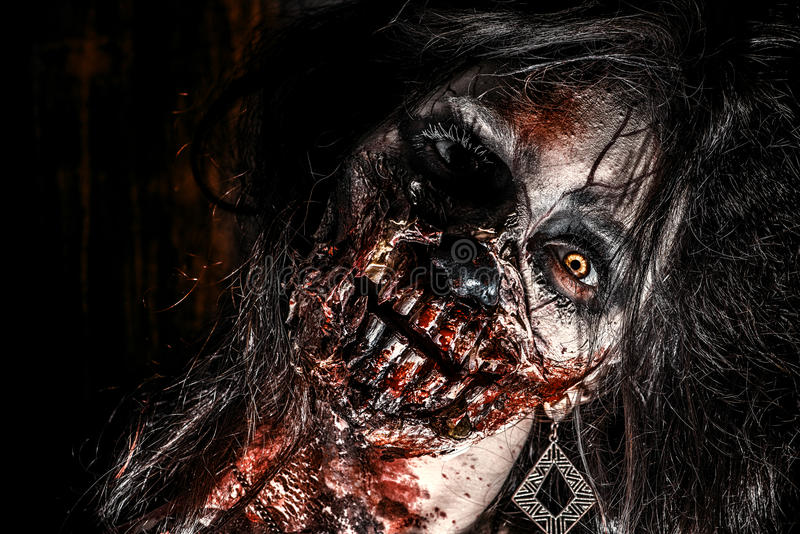 Πρόσωπο του zombie
