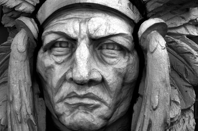 πρόσωπο το γοτθικό s Σιάτλ στοκ φωτογραφία