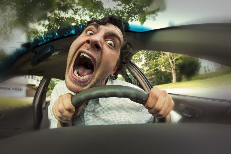 Πρόσωπο τροχαίου ατυχήματος στοκ φωτογραφία με δικαίωμα ελεύθερης χρήσης